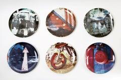 Robert Rauschenberg, Guggenheim Retrospective Limited Edition Suite of 6 Plates