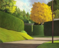 New Growth, Contemporary, Traditional, Landscape, Neighbourhood Scene, Painting