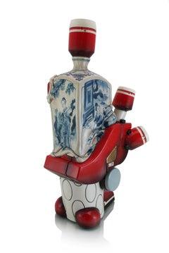 Manga Ormolu Version 5.0x, Contemporary, Hybrid, Futuristic Sculpture
