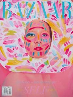 Cover girl- Harpers Bazaar Magazine, Contemporary, Hyper-Realist, Figurative