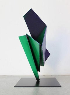 Fraktal 13, Contemporary, Abstract, Architectural, Fan, Minimal, Sculpture