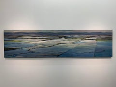 September Snow, Contemporary, Traditional, Prairie Landscape, Painting