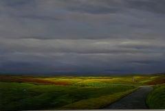"""Section Road,"" Artwork, Contemporary, Landscape"