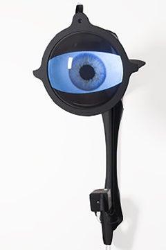 The Mass Surveillance Sculpture - The Eye Will Follow You