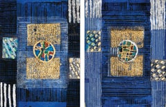 Blue, (Diptych)