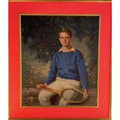 Carl Wendell Rawson American, 1884-1970 Young Tennis Pro, 1936