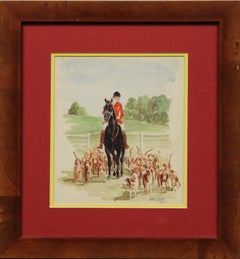 By Paul Desmond Brown, Fox Hunting at Bridlespur, Arthur D. B. Preece