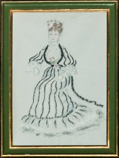Theatrical Lady in Costume by Sir Oliver Messel