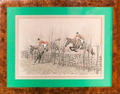 Getting Along 1929 Conte Crayon & Charcoal Drawing by Paul Brown