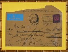 Peter Gee 1963 Envelope