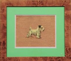 Needlepoint Terrier