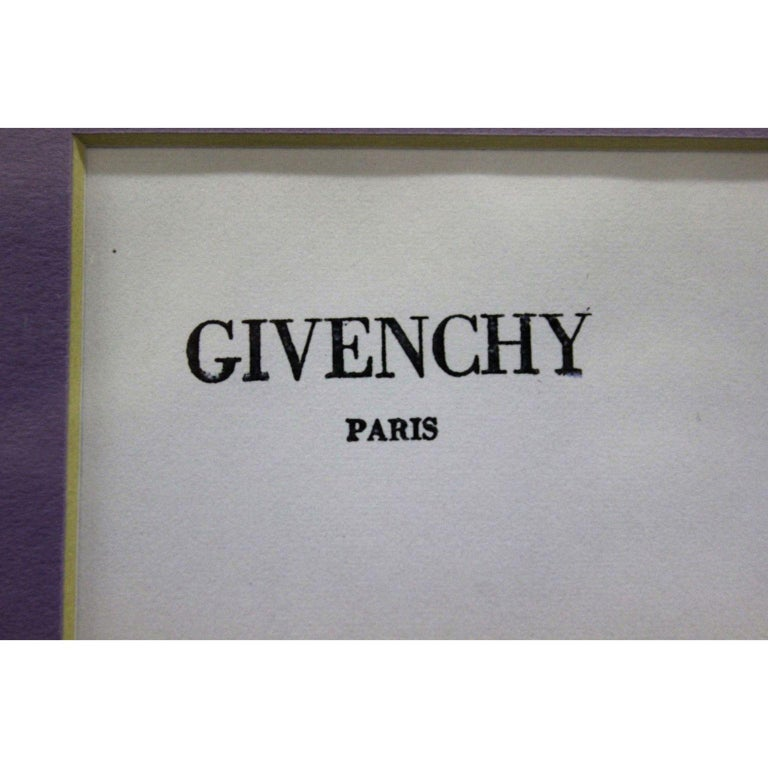 Givenchy Paris No.52 - Art by Unknown
