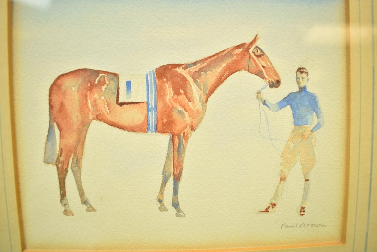 Young Rider w/ #1 Entry - Art by Paul Desmond Brown