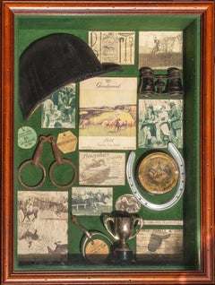 Glorious Goodwood c1952 Official Programme Shadow Box