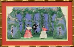 """""""Lanvin 'Spanish Geranium' Opera"""""""