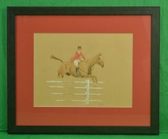 'The Foxhunter' Watercolour & Gouache