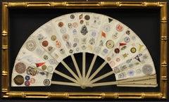 16 Panel Fan w/ 163 Letterhead Emblems