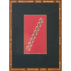 Bejewelled Diamond & Emerald Bracelet Original c.1930's Gouache Artwork