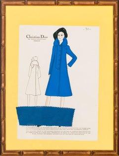 Christian Dior Blue Coat