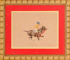 'Maharaja Polo Player' by Paul Desmond Brown