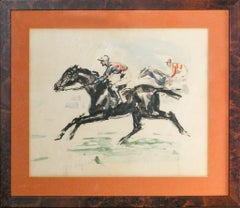 """Two French Racehorses"""