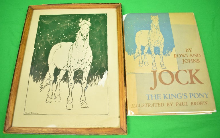 Jock: The King's Pony w/ Original Cover Artwork by Paul Brown For Sale 1