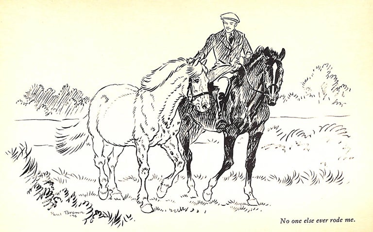 Jock: The King's Pony w/ Original Cover Artwork by Paul Brown For Sale 8