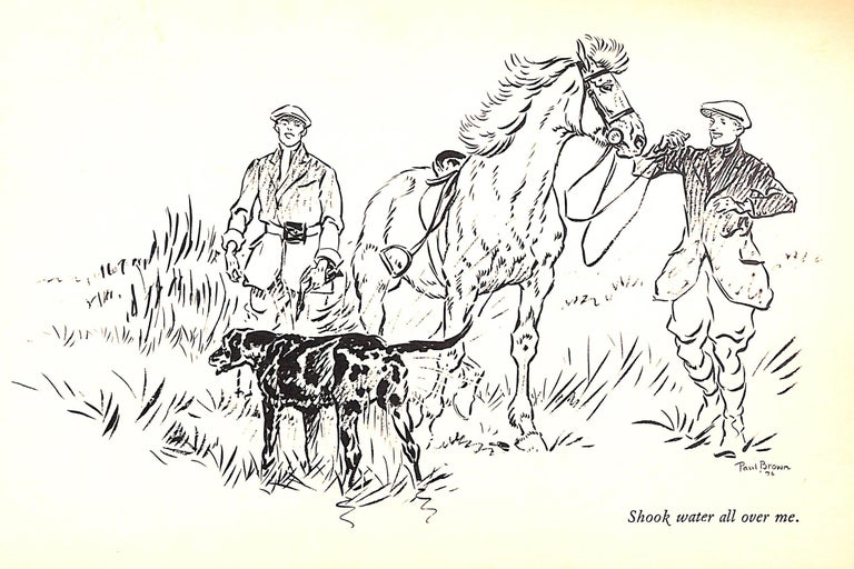 Jock: The King's Pony w/ Original Cover Artwork by Paul Brown For Sale 9