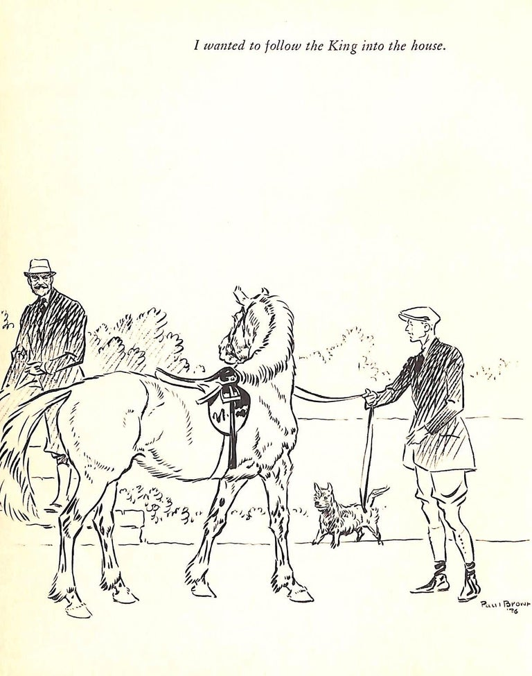 Jock: The King's Pony w/ Original Cover Artwork by Paul Brown For Sale 10