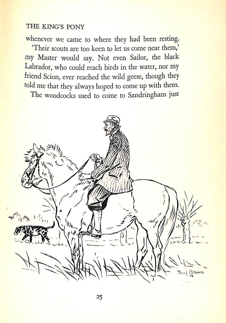 Jock: The King's Pony w/ Original Cover Artwork by Paul Brown For Sale 13