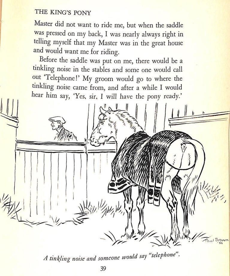 Jock: The King's Pony w/ Original Cover Artwork by Paul Brown For Sale 14