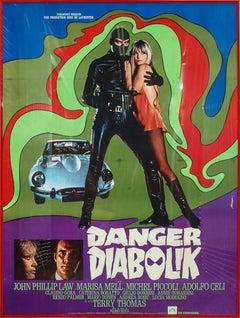 Danger Diabolik 1968 Italian Movie Poster