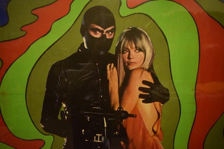 Danger Diabolik 1968 Italian Movie Poster  For Sale 1