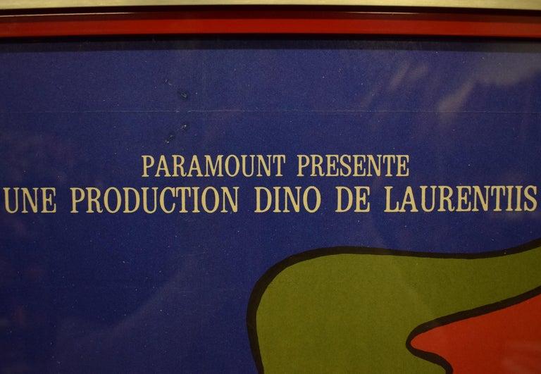 Danger Diabolik 1968 Italian Movie Poster  For Sale 2