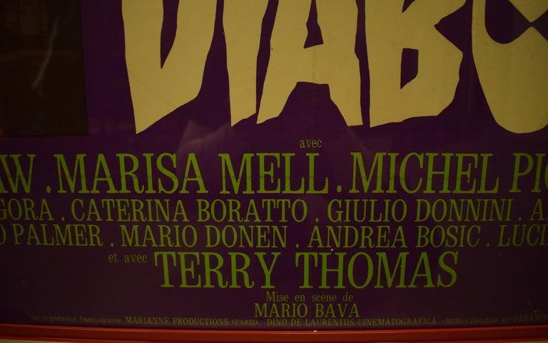 Danger Diabolik 1968 Italian Movie Poster  For Sale 6