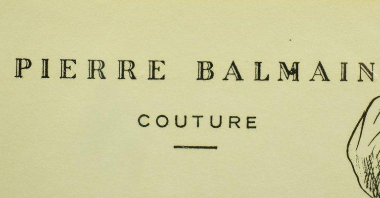 Pierre Balmain Paris 122 Chantilly - Other Art Style Art by Pierre Balmain