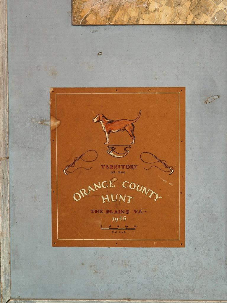The Territory of The Orange County Fox Hunt The Plains, Virginia 1946 - Other Art Style Art by Unknown