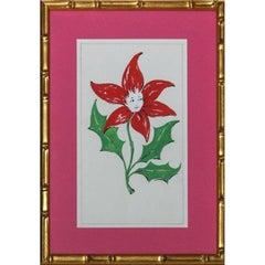 Lanvin of Paris Flower Girl Watercolour