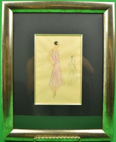 1920s Figurative Drawings and Watercolors