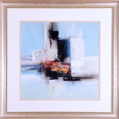 """""""Abstract Design"""" Signed and Framed, Limited Edition Lithograph, 250/295"""