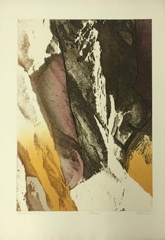 """""""Bandelier I"""" Limited Edition Etching- 128/200, Signed by Artist"""