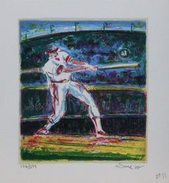 """""""Title Unknown"""" Baseball-themed, Limited Edition Print. Pencil-signed."""