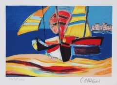 """Title Unknown"" Nautical-themed Limited Edition Print. Pencil-signed by Artist"