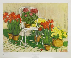 Garden Chair-Poster. 1974 New York Graphic Society, Ltd. Printed in Switzerland.