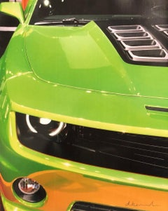 A Wink of Lime (Detroit International Auto Show)-Photograph.