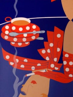 """Reflections"" by Erté-Signed, Limited Edition Serigraph"