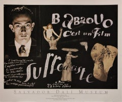 "Movie Poster of ""Babaouo"" from 1932 issued by the Salvador Dali Museum in 2004"