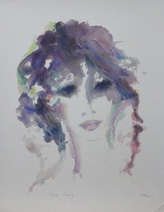 """""""Amethysta"""" Limited Edition Serigraph (229/450) Pencil-Signed by the Artist"""