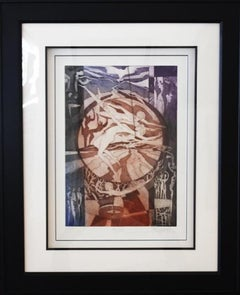 Narziss-Limited Edition Etching with Aquatint, comes with COA