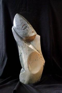 I Stand Alone-Serpentine Sculpture
